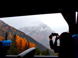 Photo of Milan Swiss Alps Bernina Express Rail Tour from Milan Beautiful Scenery on the Bus
