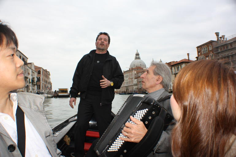 Being Serenaded ! - Venice