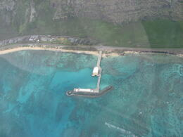 Photo of Oahu 45-minute Oahu Helicopter Tour: Hidden Oahu Dock