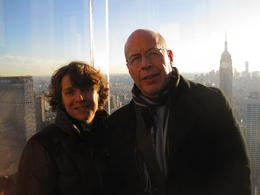 Photo of New York City Top of the Rock Observation Deck, New York Eine Traum wird wahr