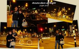 Exploring Amsterdam at night by ourselves , Alexander Y - November 2011