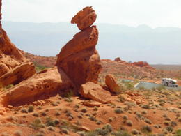 Photo of Las Vegas Valley of Fire Luxury Tour Trekker Excursion Fat Lady