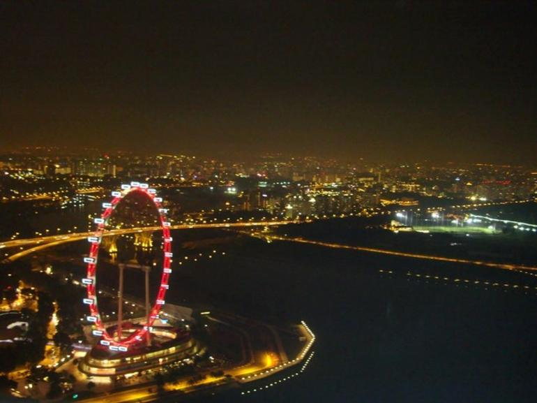 Flyer (from marina Bay Sands SkyPark) - Singapore