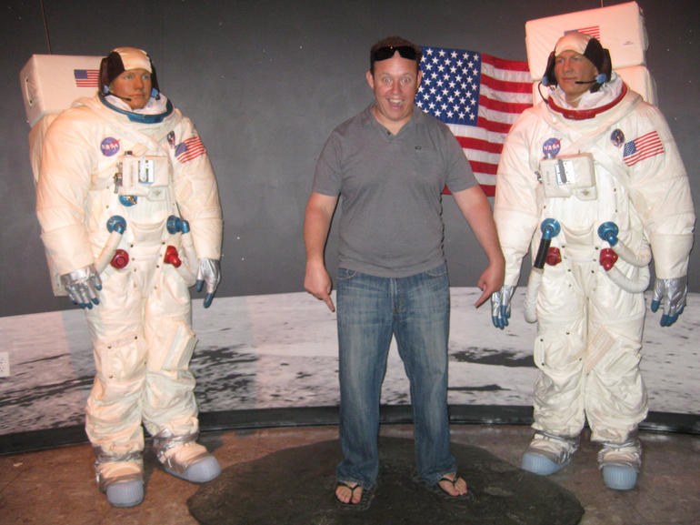 One Small Step for Man... - Las Vegas