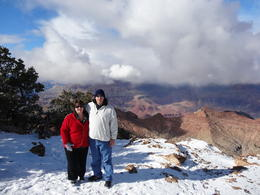 Photo of   Snow on the Grand Canyon Rim