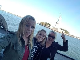 On our way over to Liberty Island! , Barbara C - October 2015