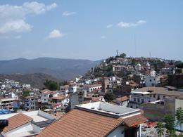 Taxco - view from the restaurant balcony, Olivia Z - April 2009