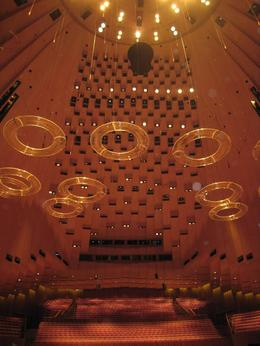 Photo of Sydney Sydney Opera House Guided Backstage Tour The ceiling in one of the theatres