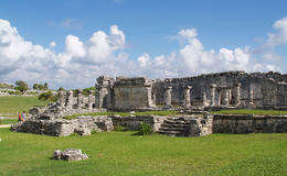 Photo of Cancun Tulum and Xel-Ha All Inclusive Day Trip from Cancun Tulum House of Columns