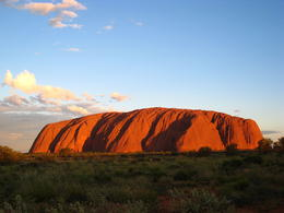 Photo of   Uluru Sunset