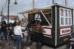 Volendam vendor , Anthony B - July 2013