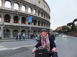 julie cook at the Colosseum , David C - April 2014