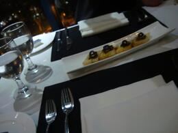 This was the starter i guess. yummy food. set up was very elegant, Yildiz Z - November 2010