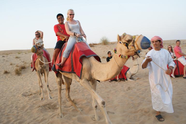 Camel Riding in the Desert - Dubai