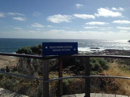 Dividing point between the Southern and Indian Oceans , Kierrra - February 2014