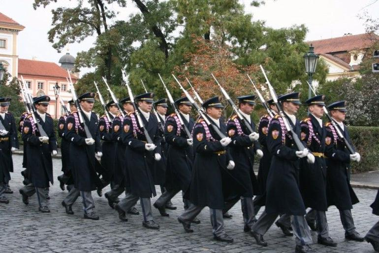 Changing of the Guard - Prague