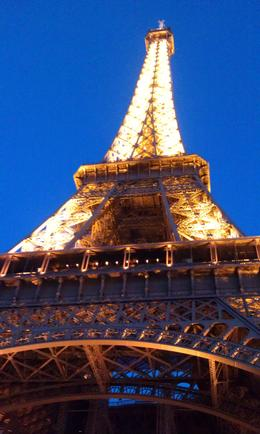 Photo of   Eiffel Tower in the Evening