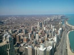 A nice view of Chicago's Gold Coast from the Hancock Observatory. , thepea - April 2014