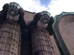 Architecture of the Helsinki Train Station, Balti-most - October 2010