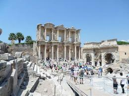 Photo of Izmir Ephesus and St. Mary's House Day Trip from Izmir Library on a clear day