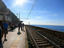 Photo of Florence Cinque Terre Hiking Day Trip from Florence @ Manarola train station