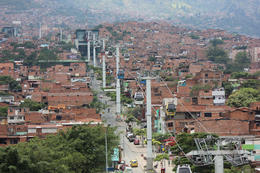 Photo of Medellín Medellín City Tour with Optional Lunch and Metrocable Gondola Ride Metro Cable