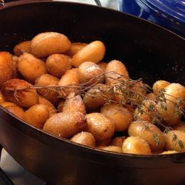 Photo of Paris Small-Group French Cooking Class in Paris New Way New Potatoes