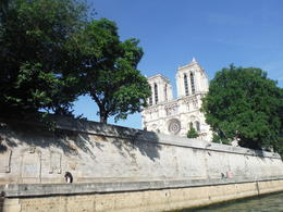 Notre Dame from the Seine , Shawn S - July 2014