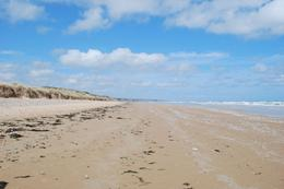 Standing on Omaha Beach looking west, Norman V - June 2010
