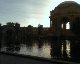 Palace of Fine Arts in the evening, Cat - January 2012