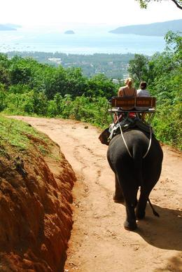 The elephant trail, with nice views over Phuket., Jeff - May 2008