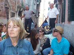 Photo of Venice Skip the Line: Venice in One Day Including Boat Tour riding the gondola
