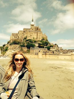 By Mount. Saint Michel, Normandy , Egija B - May 2015