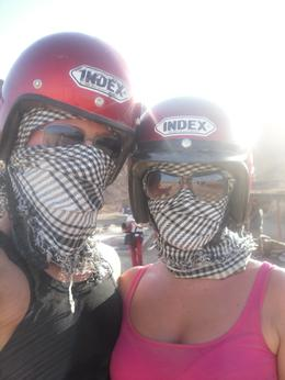 Quad Biking - Sharm el Sheikh, Alice T - September 2010