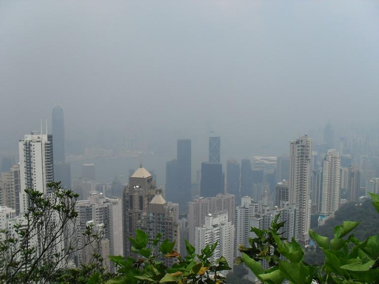 Shot from Victoria Peak - Hong Kong