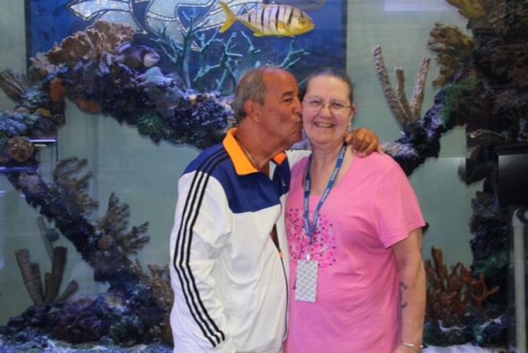 With Irwin Raymer from Tanked - Las Vegas