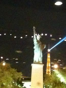 The Eiffel Tower and the Statue of Liberty!, Travel Mom - July 2011