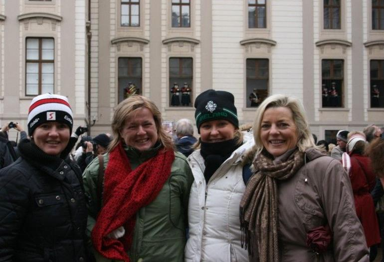 After the Changing of the Guard - Prague