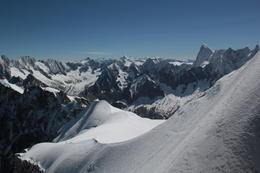 Just one of the great views from the top of the teleferique , Barbara L - August 2013