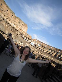 Kirsten loves the Coliseum!, Jeffrey W - July 2010