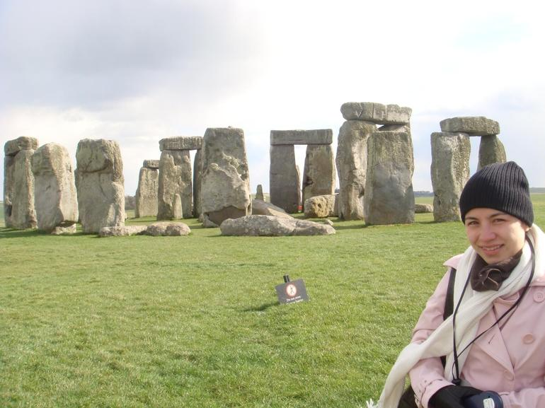At Stonehenge - London