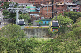 Photo of Medellín Medellín City Tour with Optional Lunch and Metrocable Gondola Ride Before Getting On