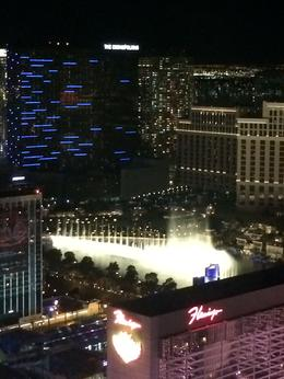 Photo of Las Vegas The High Roller at The LINQ Bellagio water show