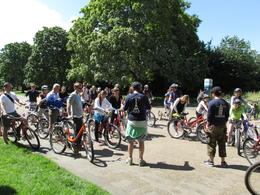 Photo of London London Royal Parks Bike Tour including Hyde Park Entrance to Kensington Park