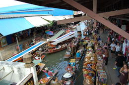 Photo of Bangkok Floating Markets and Bridge on River Kwai Tour from Bangkok Floating Market