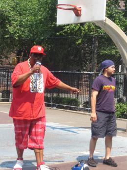 Photo of New York City New York Hip-Hop Tour Grandmaster Caz & Mighty Mouse