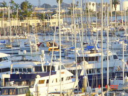 Taken from my room Balcony at the Best Western Yacht Harbour Hotel , Tony - April 2012