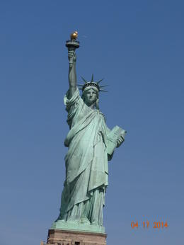 Photo of New York City Statue of Liberty Express Cruise Lady Statue,  too awesome, words couldn't describe how I felt