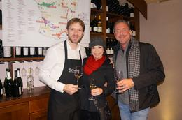 Photo of Paris French Wine Tasting in Paris Our class instructor Pierre!   How much more French could it get??!!