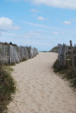Path leading to Omaha Beach, Norman V - June 2010